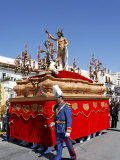 Easter Sunday Procession at the End of Semana Santa, Ayamonte, Andalucia, Spain Photographic Print by Rennie Christopher