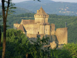 Castelnaud Castle, in the Dordogne, Aquitaine, France, Europe Photographic Print by Tomlinson Ruth