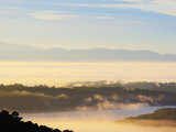 Morning Fog over the Silvan Reservoir, Dandenong Ranges, Victoria, Australia, Pacific Photographic Print by Schlenker Jochen