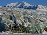Glacier and Glacier Ice, Billefjord, Svalbard, Spitzbergen, Arctic, Norway, Scandinavia, Europe Photographic Print by Milse Thorsten