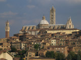 Skyline of Siena, Tuscany, Italy, Europe Photographic Print by Rainford Roy