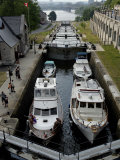Rideau Canal, UNESCO World Heritage Site, City of Ottawa, Ontario Province, Canada Photographic Print by De Mann Jean-Pierre