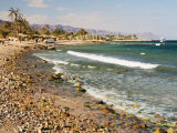 Beach and Gulf of Aqaba, Nuweiba, Sinai, Egypt, North Africa, Africa Photographic Print by Schlenker Jochen