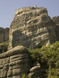 Varlaam Monastery, Meteora, UNESCO World Heritage Site, Thessaly, Greece, Europe Photographic Print by Richardson Rolf