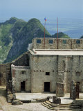 Citadelle Fort, Built in 1817, the Walls are Four Metres Thick, Milot, Haiti, West Indies Photographic Print by Murray Louise