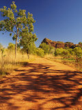 Rocky Outcrop and Road, Keep River National Park, Northern Territory, Australia, Pacific Photographic Print by Schlenker Jochen