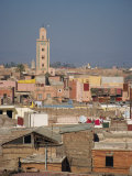 View over Rooftops of Marrakesh, Morocco, North Africa, Africa Photographic Print by Poole David