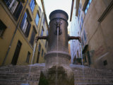 Nasoni Fountain, Via Nazionale, Rome, Lazio, Italy, Europe Photographic Print by Olivieri Oliviero