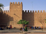 City Walls, Taroudannt, Morocco, North Africa, Africa Photographic Print by Woolfitt Adam