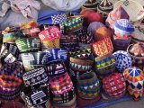 Hats for Sale in the Souk in the Medina, Marrakesh, Morocco, North Africa, Africa Photographic Print by Woolfitt Adam