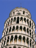 Leaning Tower, or Campanile, 179Ft High, 14Ft Out of Perpendicular, at Pisa, Tuscany, Italy Photographic Print by Rawlings Walter