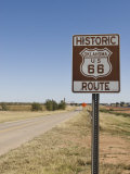 Route 66, Oklahoma, United States of America, North America Photographic Print by Snell Michael