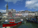 Harbour at Cobh, County Cork, Munster, Republic of Ireland, Europe Photographic Print by Richardson Rolf