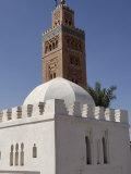 Koutoubia Minaret, Marrakesh, Morocco Photographic Print by De Mann Jean-Pierre