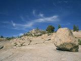 Boulder on Rocky Arid Landscape in the Tioga Pass Area of Nevada, USA Photographic Print by Wilson Ken