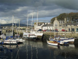Castletown Harbour, Isle of Man, England, United Kingdom, Europe Photographic Print by Richardson Rolf