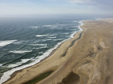 Aerial Photo of the Skeleton Coast, Namibia, Africa Photographic Print by Milse Thorsten