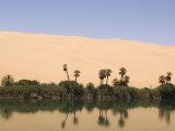 Umm El Ma Lake, Erg Awbari, Sahara Desert, Fezzan, Libya, North Africa, Africa Photographic Print by Pitamitz Sergio