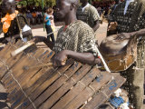 Balafon Players During Festivities, Sikasso, Mali, Africa Photographic Print by De Mann Jean-Pierre