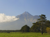 Mount Taranaki, Taranaki, North Island, New Zealand, Pacific Photographic Print by Schlenker Jochen
