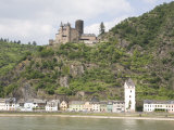 St. Goarshausen, by the Loreley Along the Rhine River, Rhineland-Palatinate, Germany, Europe Photographic Print by Olivieri Oliviero