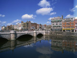 O&#39;Connell Bridge over the River Liffey, Dublin, County Dublin, Republic of Ireland, Europe Photographic Print by Merten Hans Peter