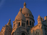 Sacre Coeur, Montmartre, Paris, France, Europe Photographic Print by Simanor Eitan