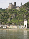 St. Goarshausen Along the Rhine River, Rhineland-Palatinate, Germany, Europe Photographic Print by Olivieri Oliviero
