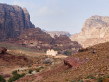 View of the Centre, Petra, UNESCO World Heritage Site, Jordan, Middle East Photographic Print by Schlenker Jochen
