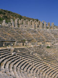 Theatre at Aspendos, One of the Best Preserved in the Roman Empire, Anatolia, Turkey Minor Photographic Print by Short Michael