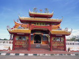 Chinese Temple in Kota Kinabalu, Sabah, Borneo, Malaysia, Southeast Asia Photographic Print by Murray Louise