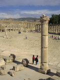 Forum, Jerash, Jordan, Middle East Photographic Print by Simanor Eitan