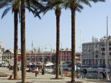 Waterfront, Porto Antico, Genova, Liguria, Italy, Europe Photographic Print by Tondini Nico