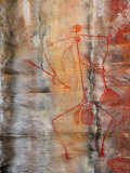Aboriginal Rock Art, Ubirr, Kakadu National Par, Northern Territory, Australia, Pacific Photographic Print by Schlenker Jochen