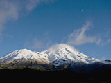 Dormant Volcano Mount Egmont or Taranaki, Egmont National Park, Taranaki, New Zealand Photographic Print by Smith Don