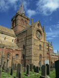 St. Magnus Cathedral, Kirkwall, Orkney Isles, Scotland, United Kingdom, Europe Photographic Print by Waltham Tony