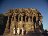 Sun Temple, Built by King Bhimbev in the 11th Century, Modhera, Gujarat State, India Photographic Print by Wilson John Henry Claude