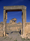 Tell, Dougga, UNESCO World Heritage Site, Tunisia, North Africa, Africa Photographic Print by Short Michael