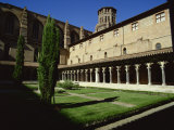Cloister of Le Couvent Des Augustins, 14th C, Augustins Museum, Toulouse, Midi-Pyrenees, France Photographic Print by Rawlings Walter