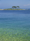Clear Water Off Red Island, at Rovinj, Croatia, Europe Photographic Print by Short Michael