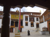 Courtyard of the Monastery of Likir, Ladakh, India Photographic Print by Simanor Eitan