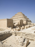 Step Pyramid of Saqqara, UNESCO World Heritage Site, Near Cairo, Egypt, North Africa, Africa Photographic Print by Olivieri Oliviero