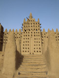 Great Mosque, the Largest Dried Earth Building in the World, Djenne, Mali Photographic Print by Pate Jenny