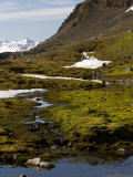 Glacier Snow Melt, Spitsbergen, Svalbard, Norway, Scandinavia, Europe Photographic Print by Milse Thorsten