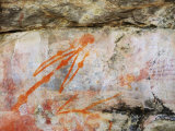 Aboriginal Rock Art, Ubirr, Kakadu National Park, Northern Territory, Australia, Pacific Photographic Print by Schlenker Jochen