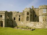 Carew Castle, Near Pembroke, Pembrokeshire, Wales, United Kingdom, Europe Photographic Print by Richardson Rolf