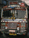 Close-Up of a Decorated Bus, Damascus, Syria, Middle East Photographic Print by Richardson Rolf