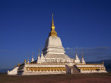 Temple on Hill, Phu That, Muang Xai, Laos, Indochina, Southeast Asia Photographic Print by Alison Wright