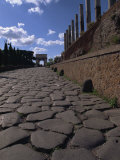Via Sacra Leading to Forum, Rome, Lazio, Italy, Europe Photographic Print by Woolfitt Adam