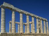 Temple of Poseidon, Sounion, Greece, Europe Photographic Print by Tovy Adina